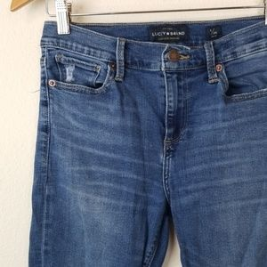 Lucky Brand Jeans - Lucky Brand Jeans 6/28 Brooke Legging Distressed
